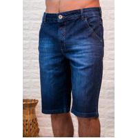 Bermuda Jeans Masculina Arauto Modelagem Confort