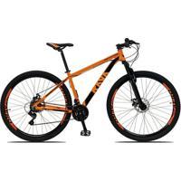 Bicicleta Aro 29 Rava Pressure 21V Câmbios Shimano Freio A Disco Mecânico Com Suspensão - Unissex