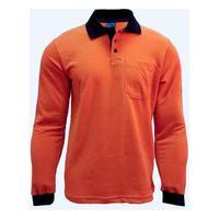 Camisa Polo Masculina Manga Longa Piquet 2971