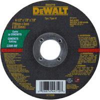 "Disco Corte Refratário Dewalt Dw44710, 4,5"" - 115 Mm"