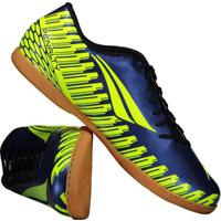 Chuteira Penalty Storm Speed Ix Futsal Azul