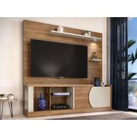 "Home Theater Para Tv Até 60"" Vittorino Buriti/Off-White - Caemmun"
