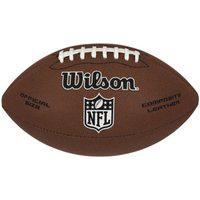 Bola De Futebol Americano Wilson Nfl Limited Wtf1799Xb, Cor: Marrom/Preto, Tamanho: Único