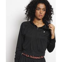 Jaqueta Training Com Amarração - Pretafila