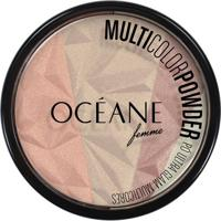 Océane Femme Pó Facial Multicolor Powder Multicores - Feminino-Incolor