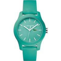 Relógio Lacoste Feminino Borracha Azul - 2000958
