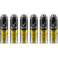 Kit Desodorante Rexona Men V8 48 Horas Aerosol Masculino 150Ml Com 6 Unidades - Masculino-Incolor