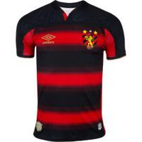Camisa Do Sport Recife I 2020 Umbro - Masculina - Preto/Vermelho