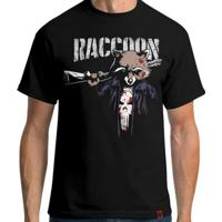 Camiseta Punisher Raccoon