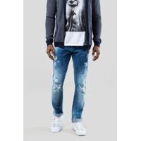 Calca Jeans +5561 Ceres Claro Reserva Masculina - Masculino-Jeans