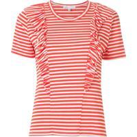 Nk T-Shirt Stripe John Listrada - Vermelho