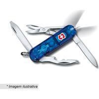 Canivete Midnite Manager- Inox & Azul Escuro- 5,8Cm