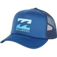 46e5735488 ... Boné Billabong Aba Curva Podium Trucker - Masculino-Azul+Marinho