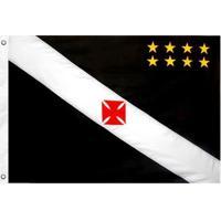 Bandeira Oficial Do Vasco Da Gama 64 X 45 Cm - Unissex