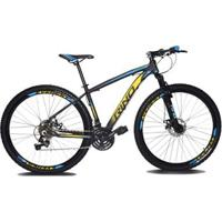 Bicicleta Aro 29 Rino Everest Color 21V Cambios Shimano - Unissex