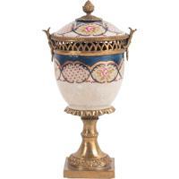 Vaso Decorativo De Porcelana Yat