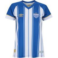 Camisa Do Avaí I 2018 Umbro - Feminina - Azul