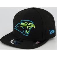 Boné New Era Nfl Carolina Panthers 950 Preto