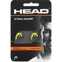 Antivibrador Head Xtra Damp Preto E Amarelo - Com 02 Unidades - Unissex