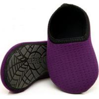 Sapato De Neoprene Fit Roxo Ufrog 27-28