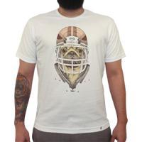 American Football Pug - Camiseta Clássica Masculina