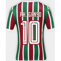 0c84efa69f Netshoes  Camisa Fluminense I 17 18 P.H. Ganso Nº 10 Torcedor Under Armour  Masculina - Masculino