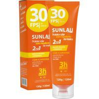 Protetor Solar Esportivo E Repelente Fps30 120G - Sunlau