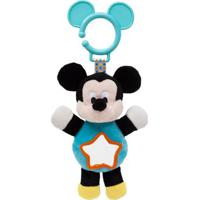 Pelúcia De Atividades - Disney - Mickey Mouse Com Espelhinho - Buba