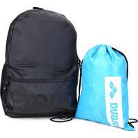 Kit Mochila Arena Backpack + Sacola Arena Gym Sack - Unissex
