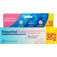 Bepantol Baby Creme Contra Assadura 100G + 20G Grátis Leve Mais Por Menos