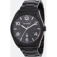 Kit Relógio Masculino Technos 2115Msx/K4P Analógico 5Atm + Canivete