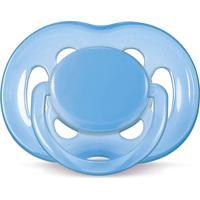 Chupeta Freeflow 6-18 Meses 1 Unidade Azul Avent