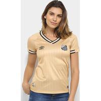 Camisa Santos Iii 2018 S/N° - Torcedor Umbro Feminina - Feminino
