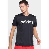 Camiseta Adidas D2M Ca Logo Masculina - Masculino