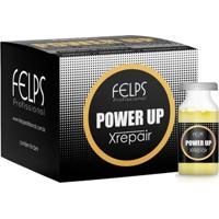 Caixa De Ampola Xrepair Complexo De Vitaminas Power Up 15Ml (Cx 9Un) - Amarelo/Bordã´ - Feminino - Dafiti