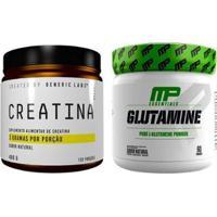 Kit Glutamina + Creatina 400G Generic Labs - Unissex