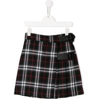 Burberry Kids Luiza Vintage Check Skirt - Preto