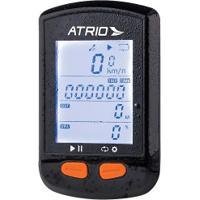 Gps Para Ciclismo Atrio Steel Com Sensor De Cadência - Preto