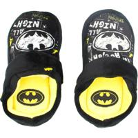 Pantufa Infantil Ricsen Batman Masculino - Masculino-Preto