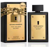Perfume Antonio Banderas The Golden Secret Masculino Eau De Toilette   Antonio Banderas   200Ml