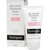 Neutrogena Gel Creme Hidratante Facial Oil Free Pele Mista A Oleosa 50Ml - Unissex