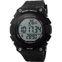 Relógio Skmei Digital Pedômetro 1112 Preto