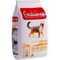 Ração Para Gatos Adultos Cat Excellence Sabor Frango 3Kg