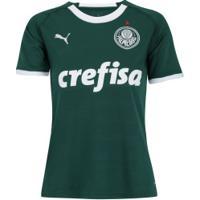 Camisa Do Palmeiras I 2019 Puma - Feminina - Verde