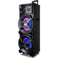 Caixa De Som Amplificadora Amvox Aca 1005, 1000 Watts, Bluetooth, Usb