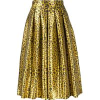 Ultràchic 50'S Style Skirt - Amarelo