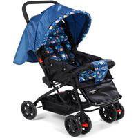Carrinho De Bebê Luck Azul Voyage Imp01720