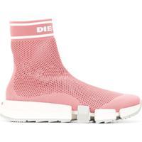 Diesel Sock Sneakers - Rosa