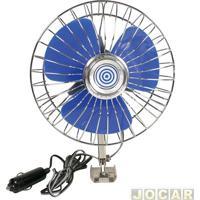 Ventilador - Western - Adaptável Ao Acendedor De Cigarros - 12V/12W - 15Cm Diametro - Cada (Unidade) - V-50