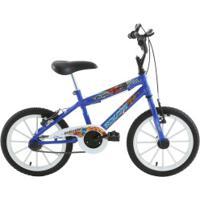 Bicicleta Oxer - Aro 16 - Freio V-Brake - Infantil - Azul